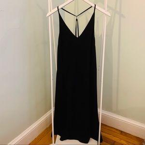 (4) Topshop black dress